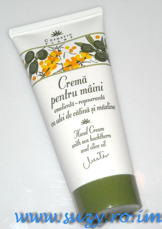 cosmetic plant crema de maini cu ulei de catina si masline