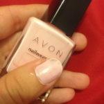 NOTD: Avon Pastel Pink