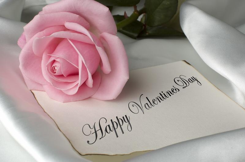Pink-Rose-Happy-Valentine-Day