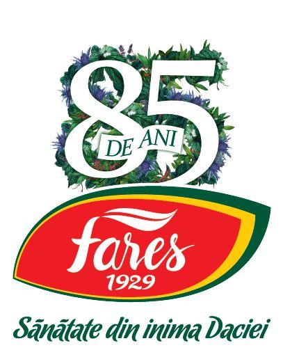 Logo Fares 85 ani