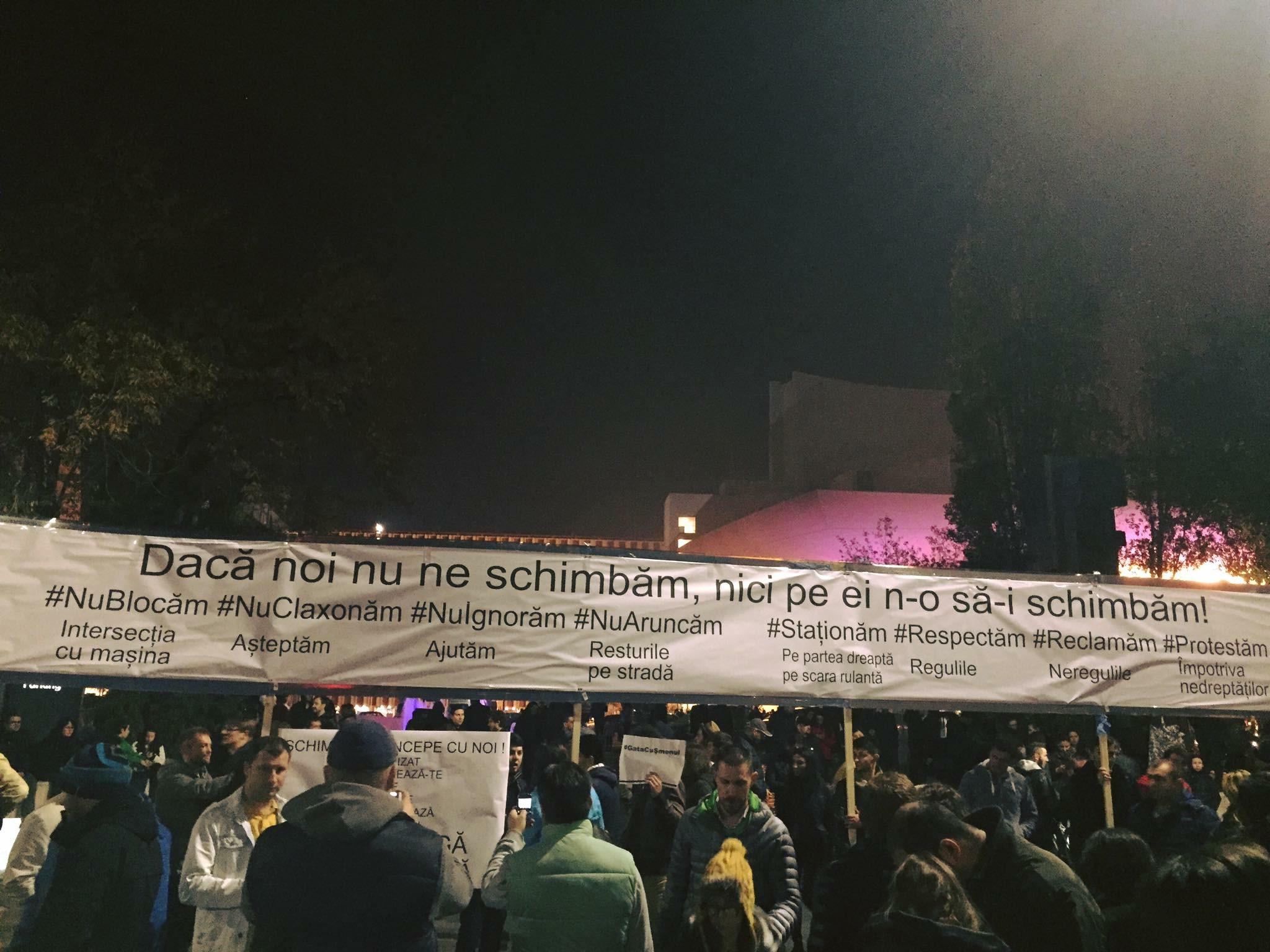 proteste Piata Universitatii #colectiv