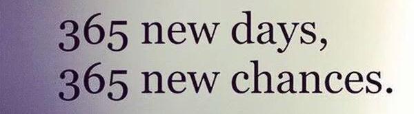 365 new days