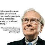 Cateva sfaturi – Warren Buffet