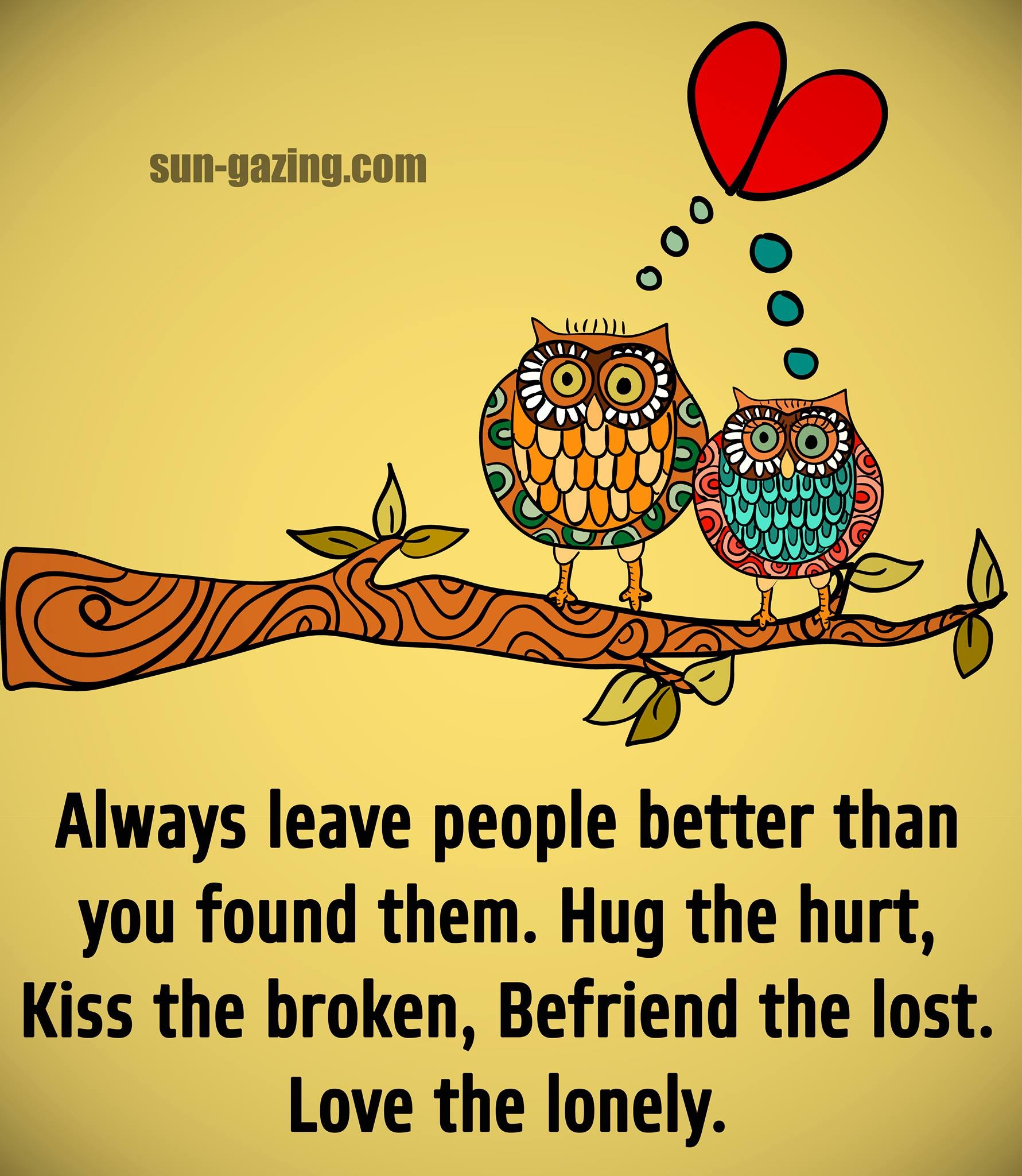 fii bun cu oamenii care merita