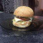 Mini cheeseburger – home-made