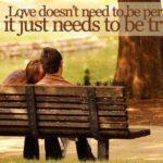 O relatie frumoasa si perfecta