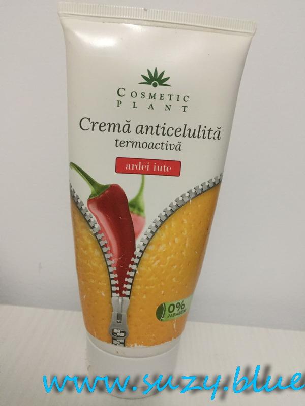 Crema anticelulitica cu ardei iute