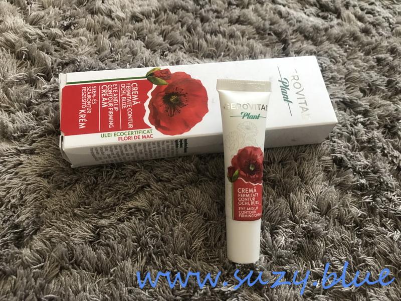 crema contur ochi si buze cu efect de fermitate Gerovital Plant